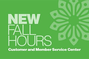New hours for fall
