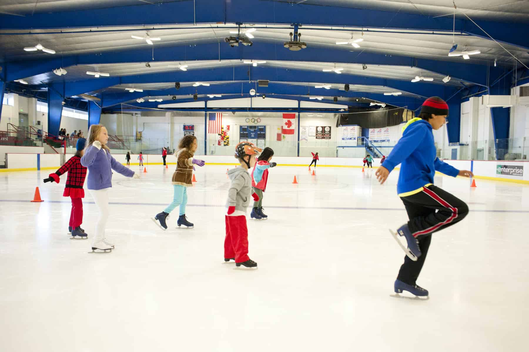 Ice Rink Programs - Columbia Association