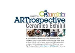 ARTrospective Ceramics Exhibit