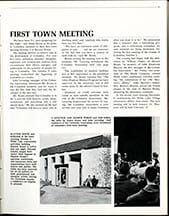 first town meeting