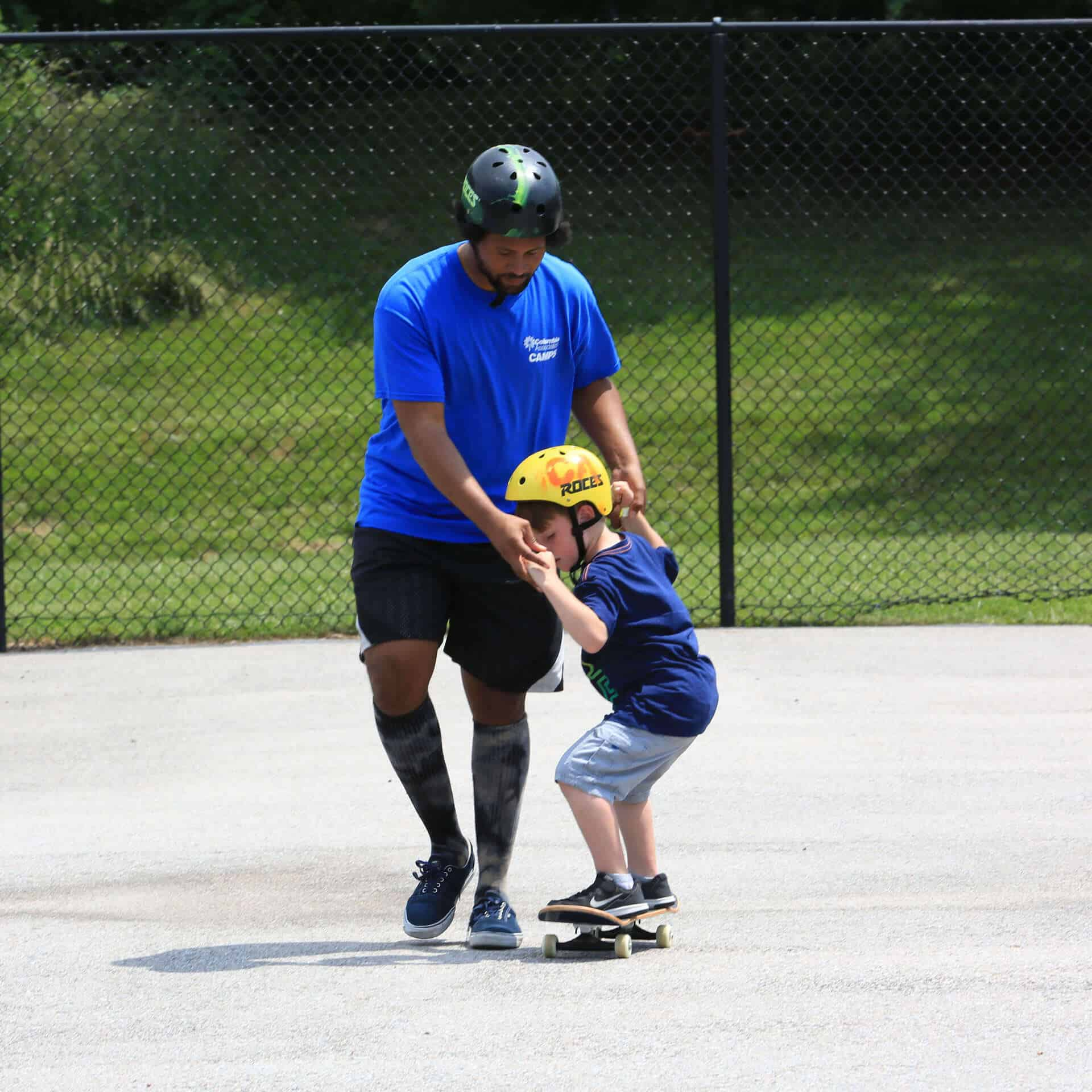 skateboard camp image