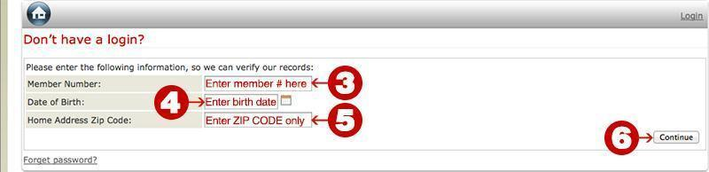 click continue button 6