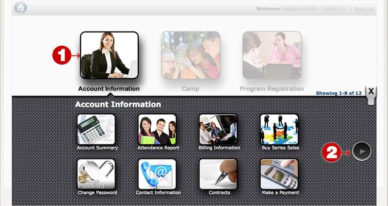 tutorial acct info