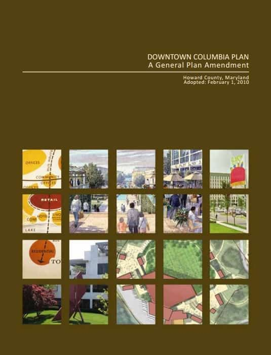 downtown columbia plan