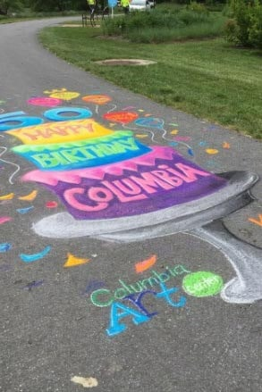 sidewalk art contest