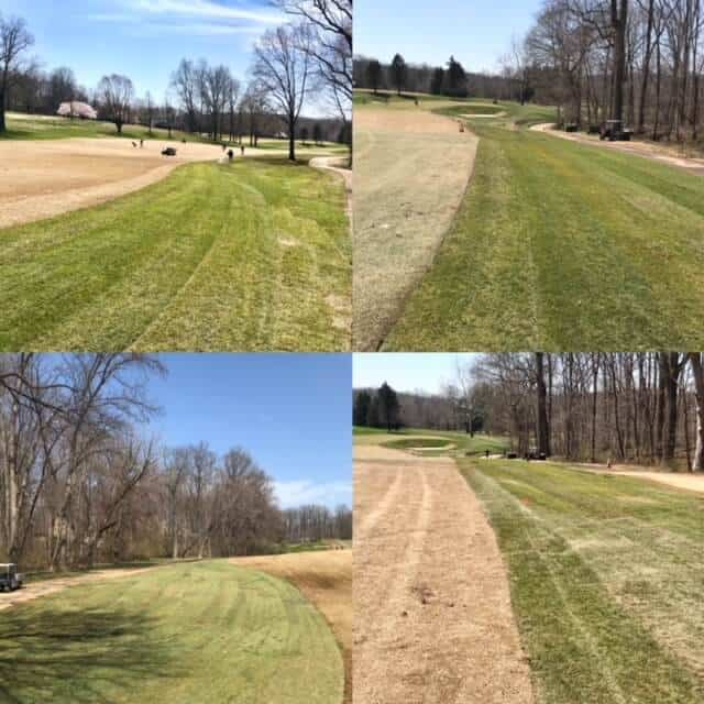 path and fairway