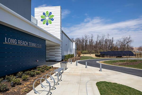 Long Reach energy efficient Indoor Tennis Court