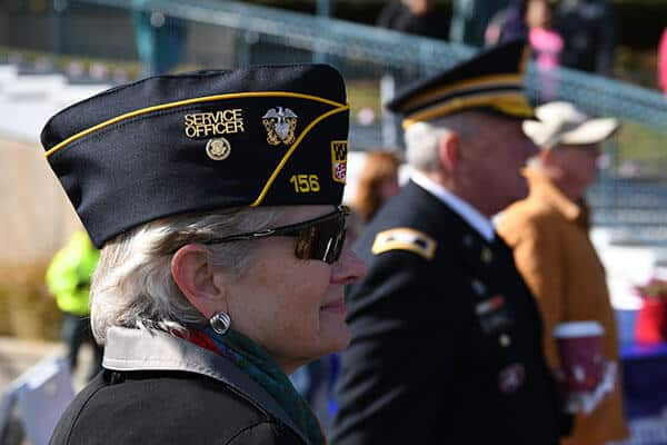 Image of Veterans in uniform