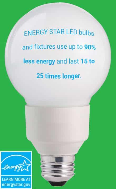 Energy Star LED bulb