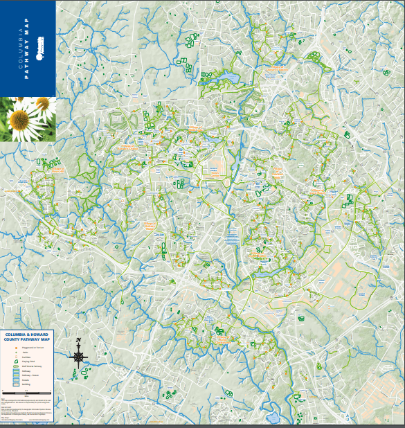 columbia pathway map
