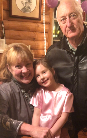 Joyce Mayer with Granddaughter