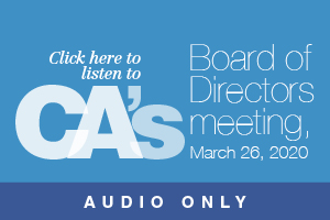 listen to March 26 board of directors meeting