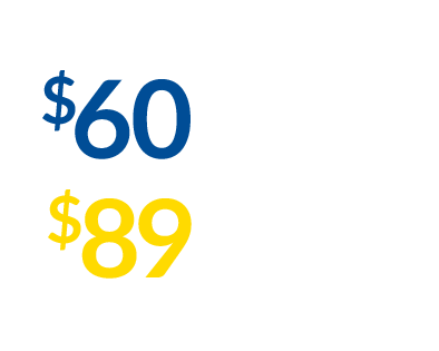 pricing for our gyms