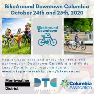 BikeAround Downtown Columbia 2020 Flyer