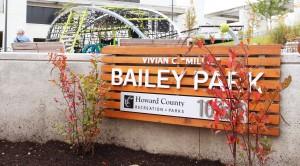 Bailey Park sign