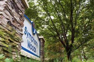 Symphony Woods sign