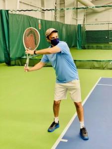 Arun Pant, CA tennis