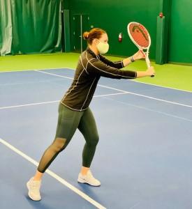 Anna Pomyatinskaya, CA tennis