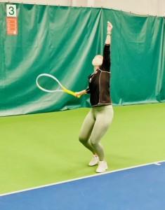Anna Pomyatinskaya, CA adult tennis director