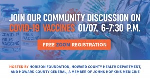 COVID-19 Vaccines Community Discussion logo