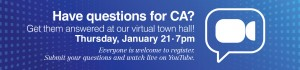 CA Virtual Town Hall
