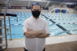 Marty Oltmanns at the Columbia Swim Center