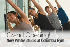 columbia gym pilates grand opening